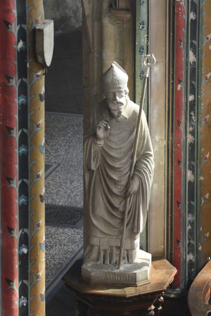 statue Saint-Aignan