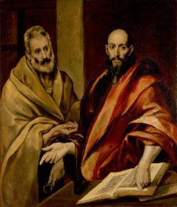 Greco, El Sts Peter And Paul