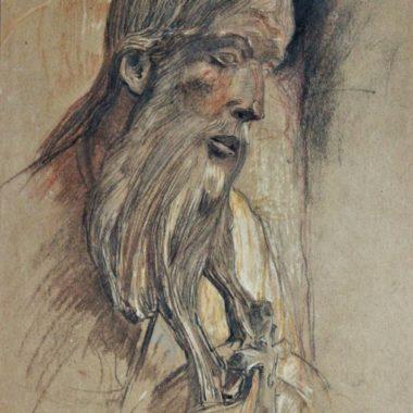 Charles Jouas Saint Jean Baptiste Chartres Pastel 630x1024