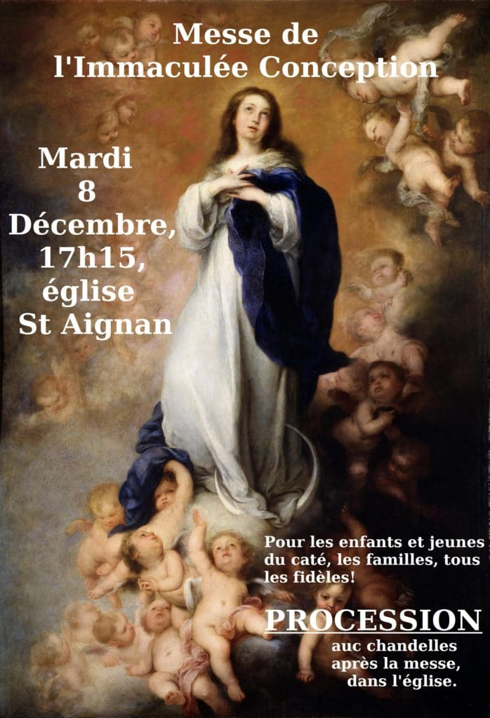 Messe Immaculée Conception