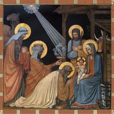 'adoration Of The Magi'